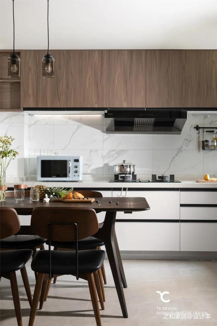 厨房吊柜颜色图片