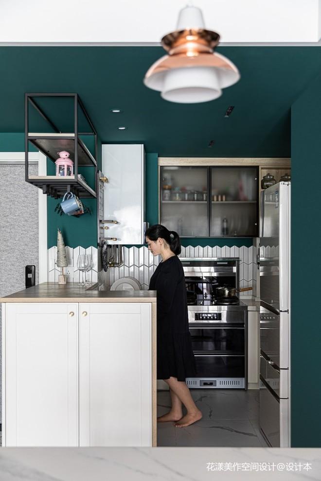 小平米开放式厨房