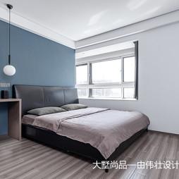 蓝色卧室图片