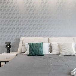 卧室背景墙造型效果图