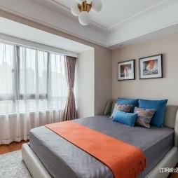 卧室窗帘颜色搭配图片
