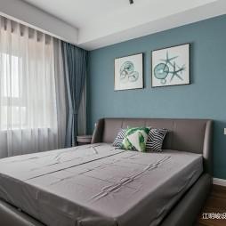 小户型卧室背景墙图片