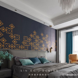 L型卧室设计