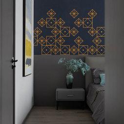 卧室床头柜储物柜设计