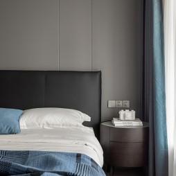 卧室床头软包背景墙效果图