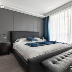 卧室窗帘照片