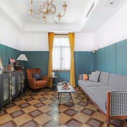 客厅拼接地板砖图片