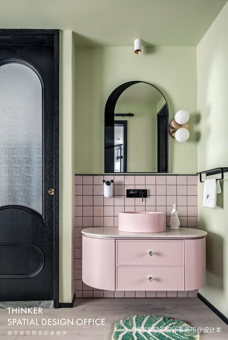 现代风格小洗手台图片