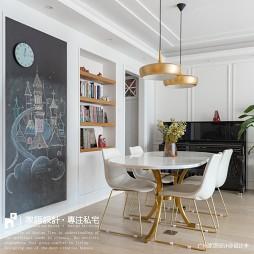 家庭餐厅黑板墙设计图