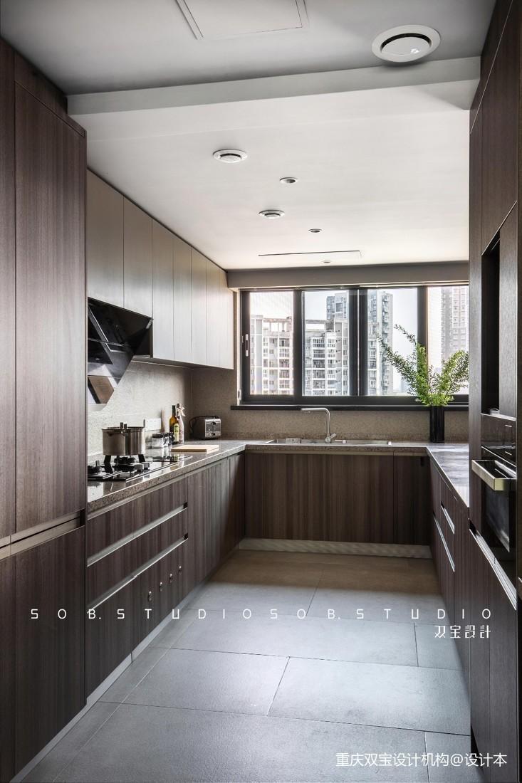 欧式开放式厨房装修效果图