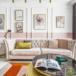 客厅沙发背景墙画