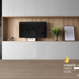 电视背景墙柜效果图