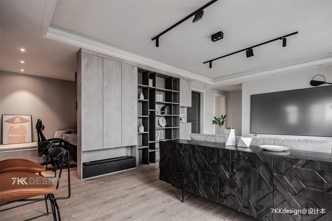 精装房打造黑白灰高逼格工业风品质生活