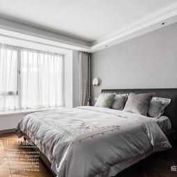 卧室飘窗帘效果图