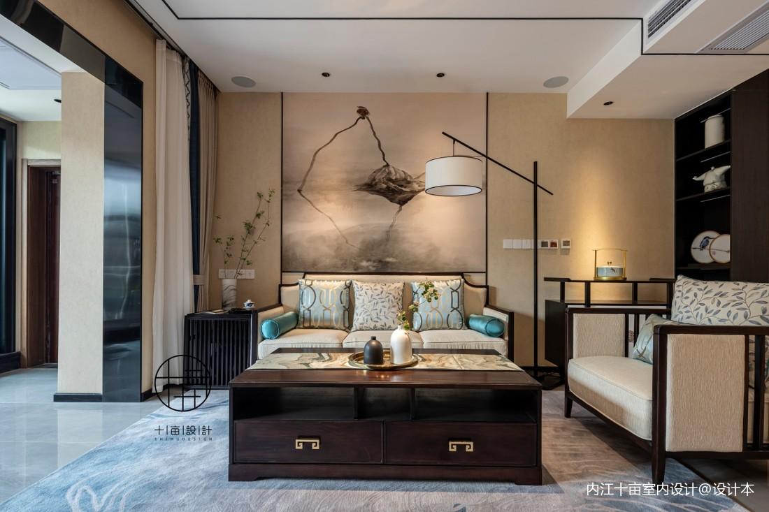中式客厅图
