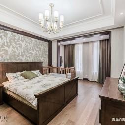 美式主卧室效果图