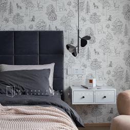 卧室墙纸装修图