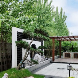 中式庭院围栏