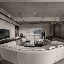 高级私人会所客厅设计