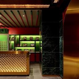 王红军龙虾博物馆餐厅前台设计