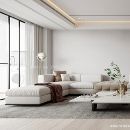 L型沙发客厅图片