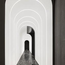翠园餐厅走廊设计