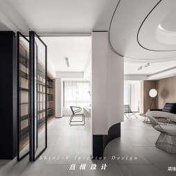 书房吊柜折叠门图片