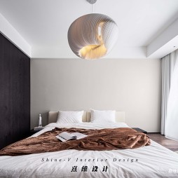 卧室现代简约个性吊灯图