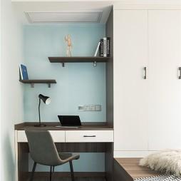 书桌书柜一体设计图