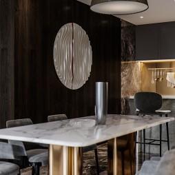 现代轻奢餐厅图片