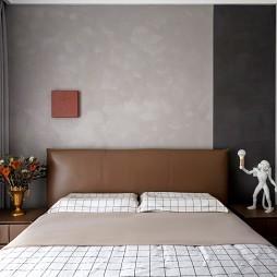 卧室墙纸装饰图片