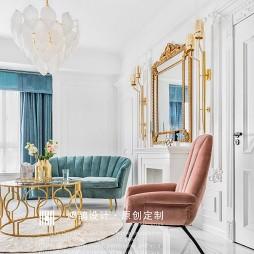 法式客厅窗帘