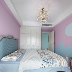 美式现代轻奢儿童房设计