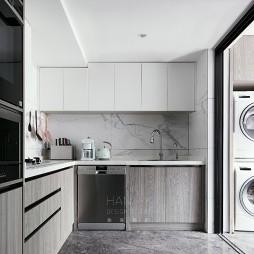 L型开放式厨房设计图