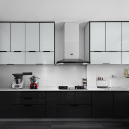 现代风格厨房吊柜设计图
