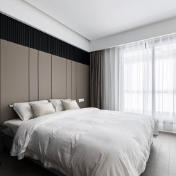 卧室背景装修图