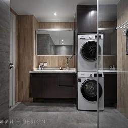卫生间洗衣机装修效果图