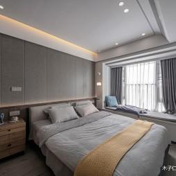 卧室背景墙软包效果图