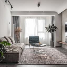 客厅无踢脚线设计