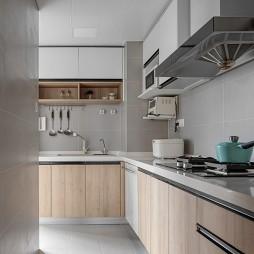 北欧极简风格厨房装修效果图