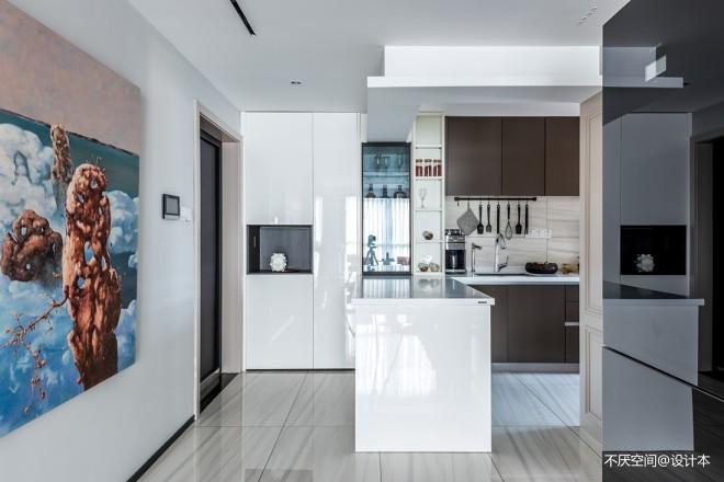 70m²的现代一居室,二人世界的浪漫