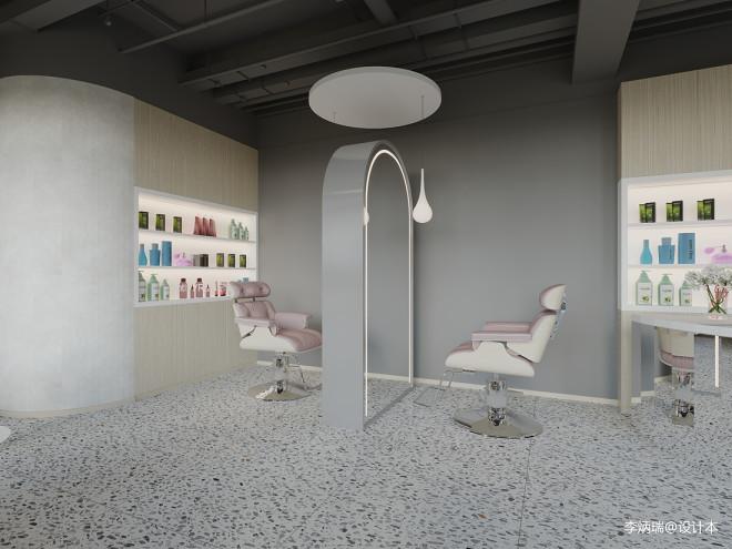 理发店设计-工业风与艺术极简中的平衡