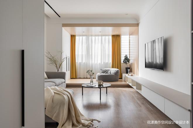 既白 | 原木+大白墙,极度舒适的视