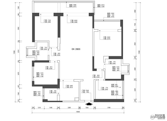 145平精装房改造-高级粉的家_16