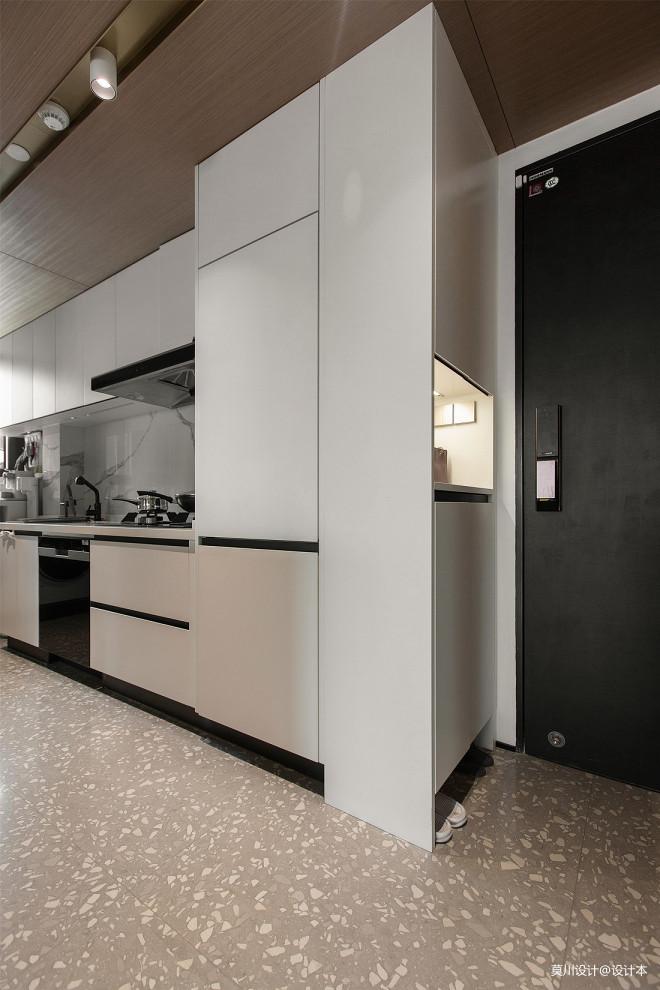 黑白灰调性,三室改两室,三分离设计_