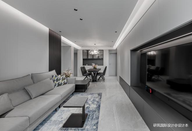 北京通州114㎡老房改造变身现代高级