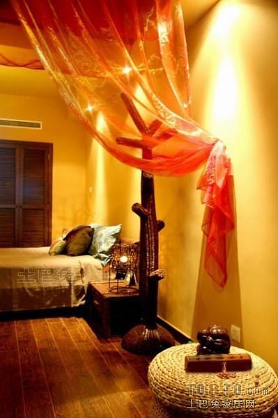 东南亚风格卧室9284
