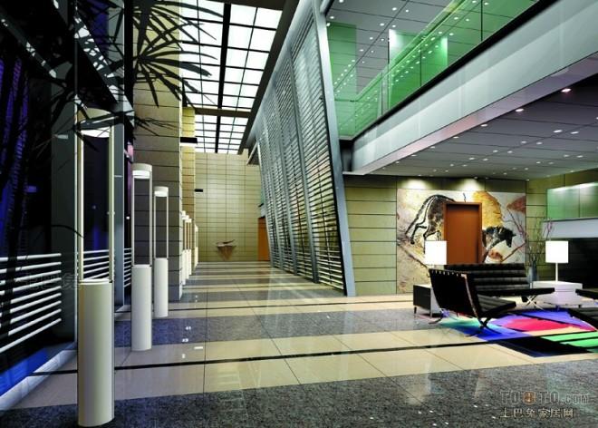 国家电力投资集团办公楼-阳光走廊.j