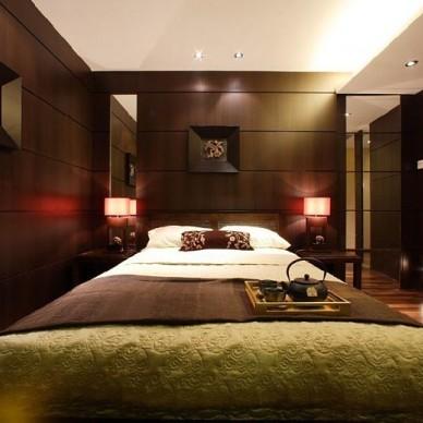 中式现代卧室4688