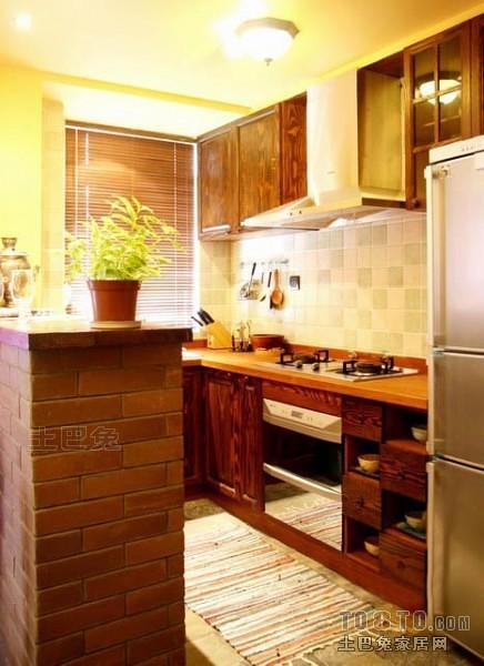 东南亚风格厨房9286